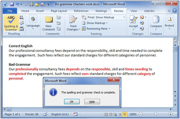 Some commercial grammar checkers reviewed here offer little over the free grammar checker in Microsoft Word.