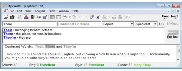 Confused Words - Their, There and They're by Software for Writers