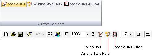 Words toolbar