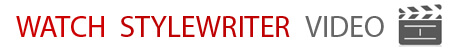 StyleWriter professionally proofreads and edits your writing into plain English